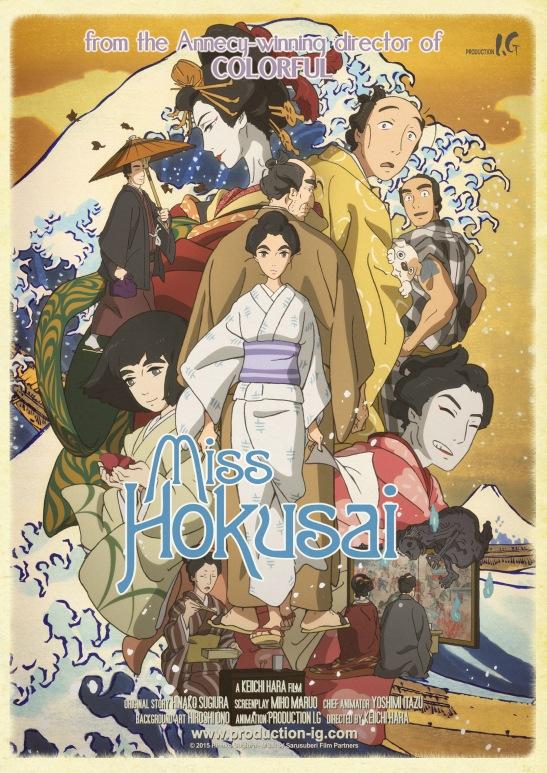 Poster de Miss Hokussai